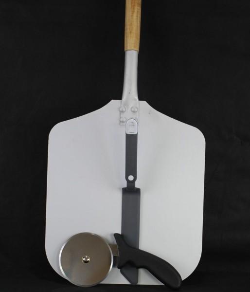 Flammkuchen Schieber Alu Holz deierlei Kunstoff Sreicher
